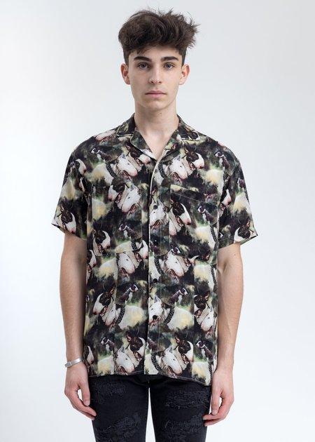 Represent Terrier Camo Short Sleeve Shirt
