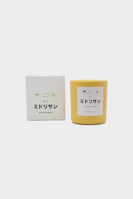 Mister Green Candle 2 - Midori San