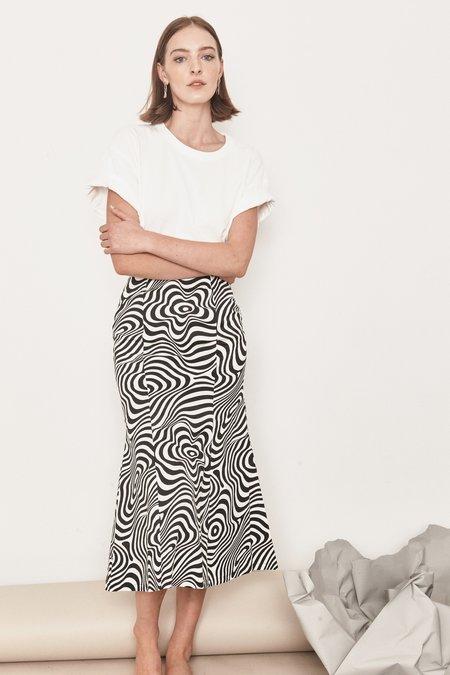 Arc & Bow PRE-ORDER Allure Skirt - Black/White