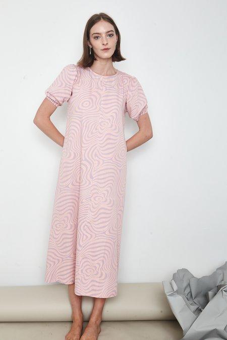 Arc & Bow Trance Dress - Pink/Purple
