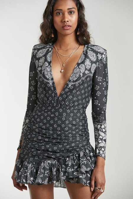 Rococo Sand Dress - Black