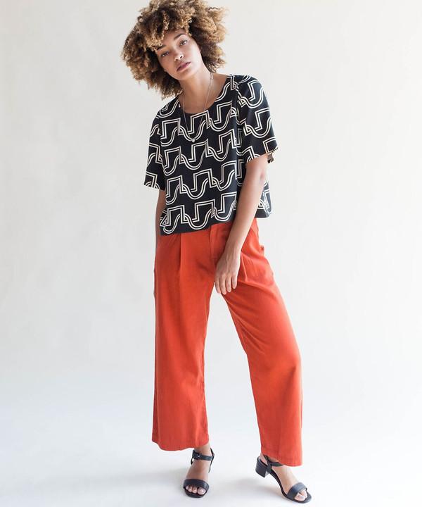 Lacausa Blood Orange Lola Trousers