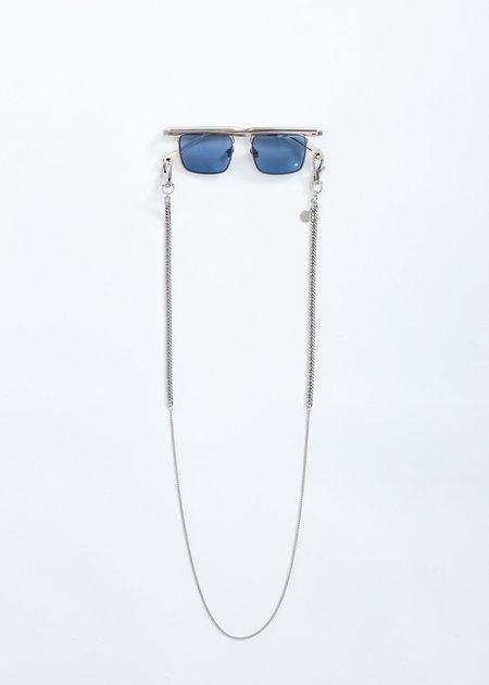 Études Studio Karma Sunglasses With Chain - Silver