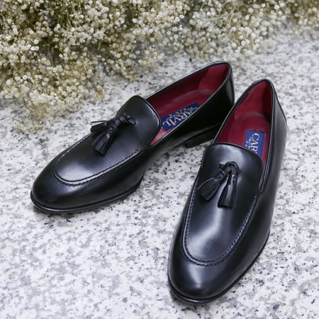 CARVIL Triomphe Loafers - Nappa Black