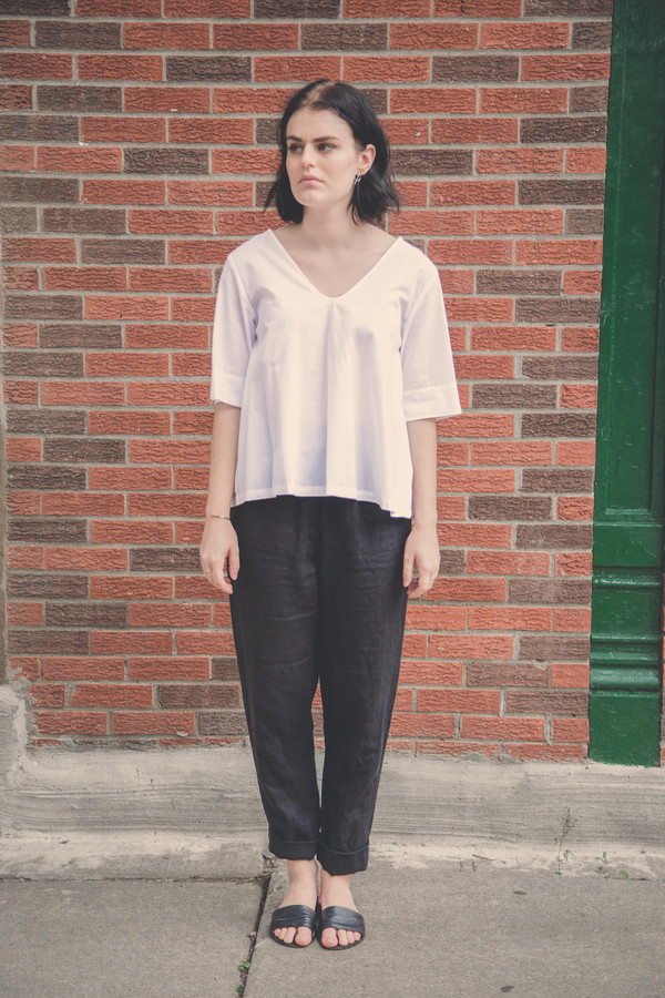 Kowtow Radius Top in White