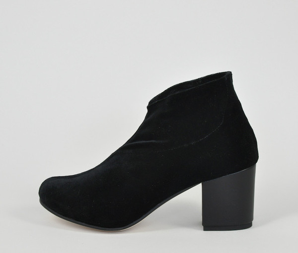 The Palatines Shoes Saturo Geometric Pump - Black
