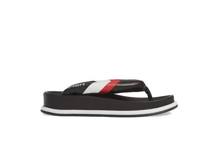 Ash Tonic Flip Flops - Black/White