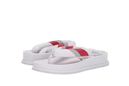 Ash Tonic Flip Flops - White/Lip