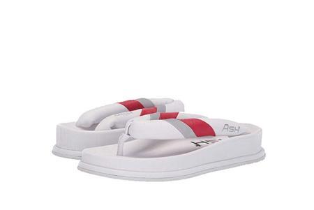 Ash Tonic Flip Flops - White