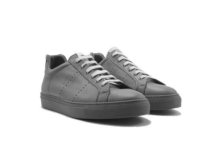 National Standard Edition 04 Sneaker - Grey Leather