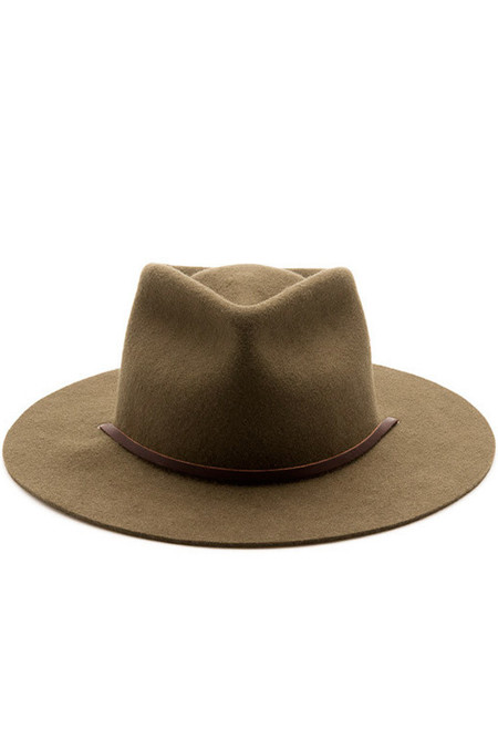 Men's Yellow108 Eastwood Hat Olive Wool