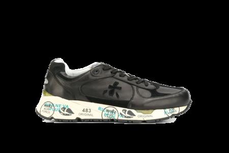 Premiata Mase Leather Sneaker - Black