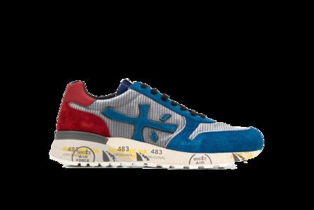 Premiata Mick Sneaker - Red/Blue