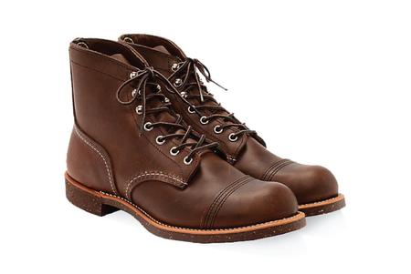 Red Wing 6 Inch Iron Ranger Boot - Leather Amber