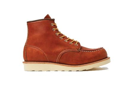 Red Wing 6 Inch Moc Toe Boot - Brown Leather