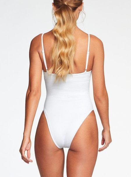 Vitamin A Jenna Bodysuit - White