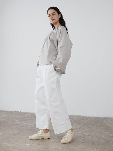Studio Nicholson Selvedge Denim Greta Pant - Optic White
