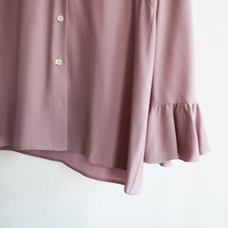 [pre-loved] Celine Button Up Blouse - Light Purple