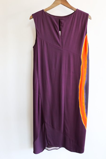 [pre-loved] Narciso Rodriguez Shift Dress - Purple