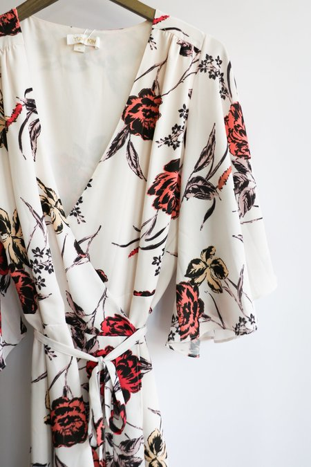 [pre-loved] Yumi Kim Wrap Dress - cream