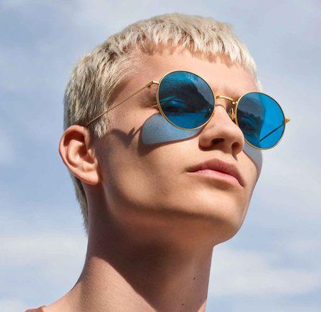 Unisex Poketo Komono Conrad Sunglasses - Turquoise