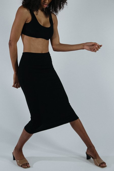 Angie Bauer Jen Skirt - Black