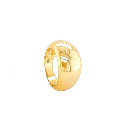Mod + Jo Chelsey Dome Ring - Gold