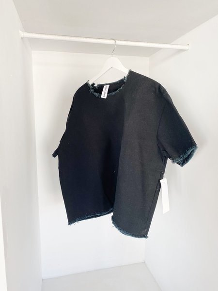 ASHLEY ROWE Oversized Tee - Black