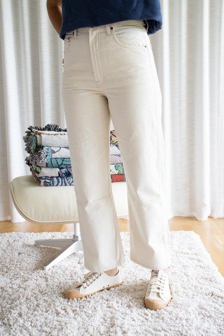 B Sides Jeans Plein High Straight - Clair
