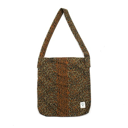 South2 West8 BOOK BAG - LEOPARD