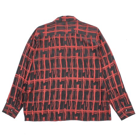 Needles Cut-off Bottom Classic Plaid Shirt - Charcoal