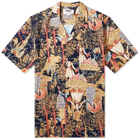 You Must Create Malick Shirt - BLACK MULTI