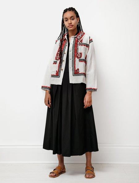 BODE Pom-Pom Appliqué Workwear Jacket