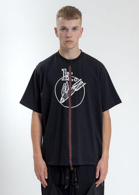 Komakino Boxy Fit T-Shirt - Black