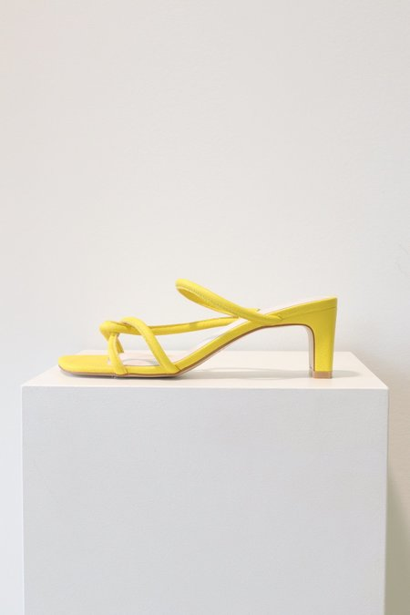 """INTENTIONALLY __________."" Willow Heel - Yellow"