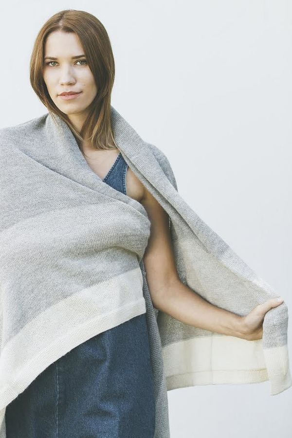 Bare Knitwear Travel Wrap