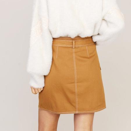 Poketo Asymmetrical Skirt