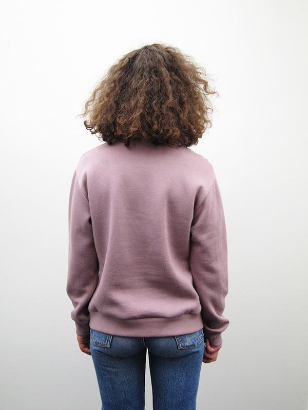 Unisex Correll Correll Solo Nimi Sweatshirt, Mauve