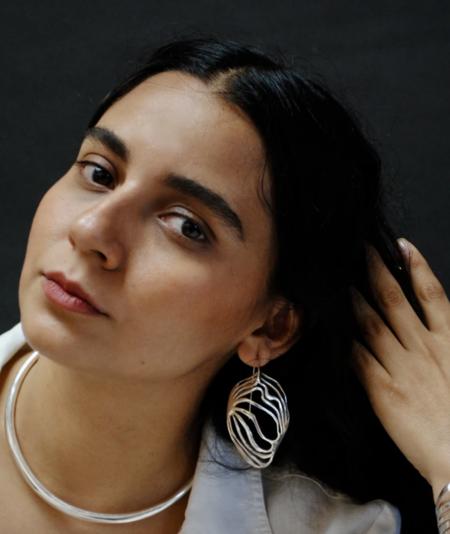 Ariana Boussard-Reifel monarch earrings