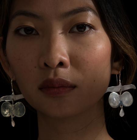 Ariana Boussard-Reifel platoro earrings