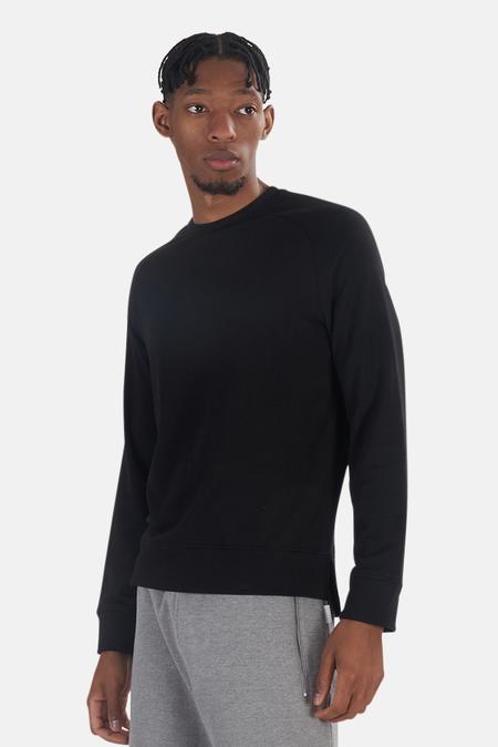 Wheelers.V Mason Crewneck Sweater - Black