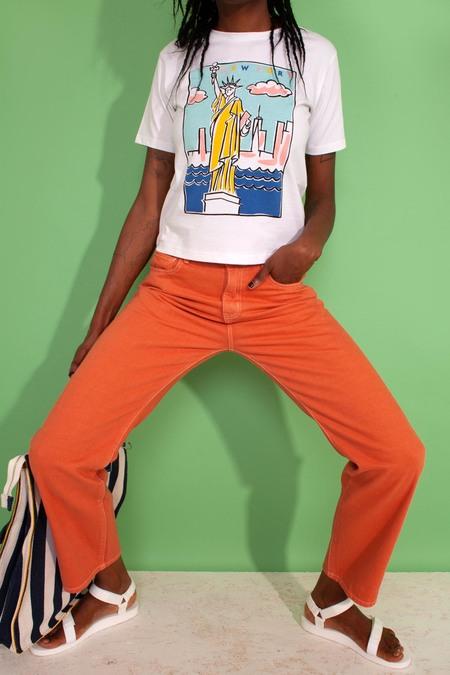 L.F.Markey Straight Cut Jeans - Apricot