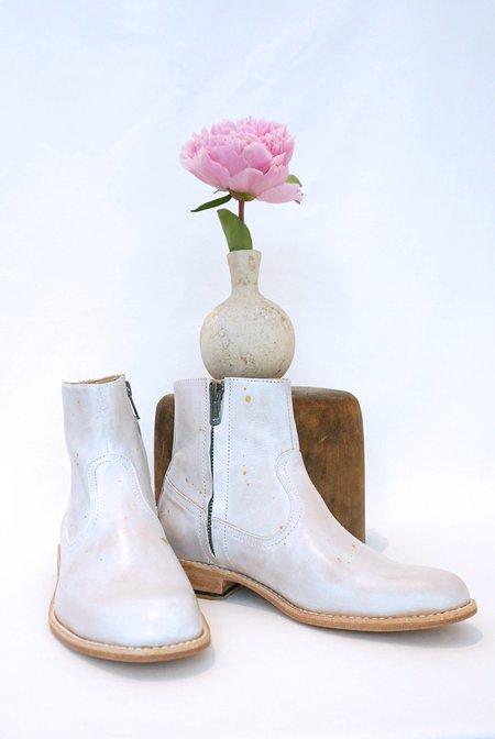 ESQUIVEL Dakota Boot - White Splatter