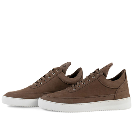 Filling Pieces low top ripple nubuck - Almond