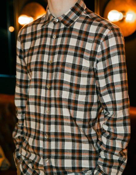 Portuguese Flannel Brownie Long Sleeve Shirt - Plaid