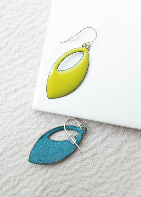 Magpie Mouse Cutout Earrings
