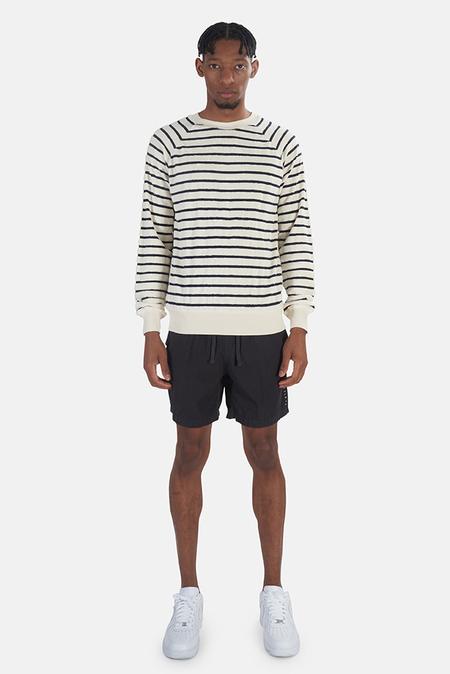 La Paz Cunha Sweatshirt Sweater - Navy stripe