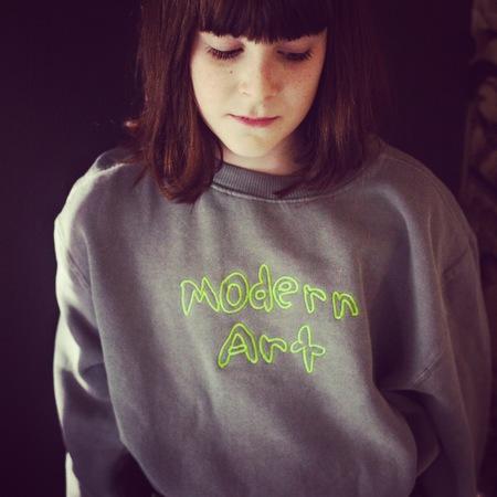 Kids Anchors-n-Asteroids Modern Art Sweats