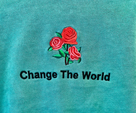 Kids Anchors-n-Asteroids Change The World Sweats - Teal
