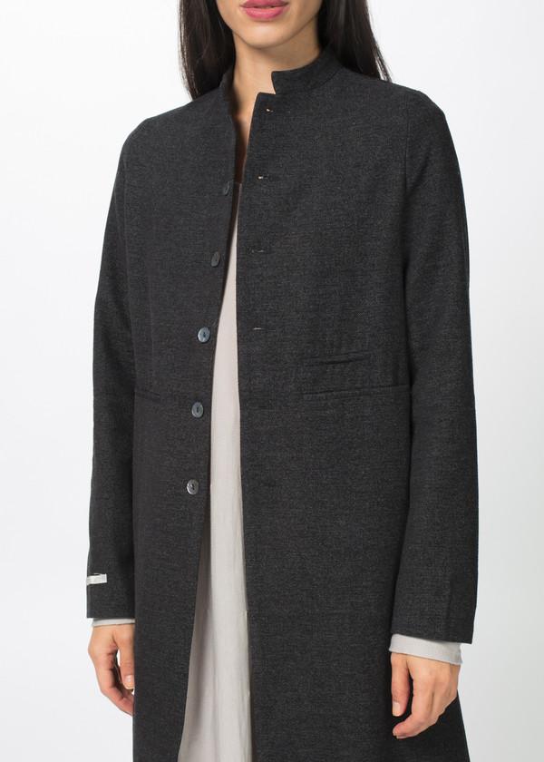 Album di Famiglia Mandarin Collar Long Jacket